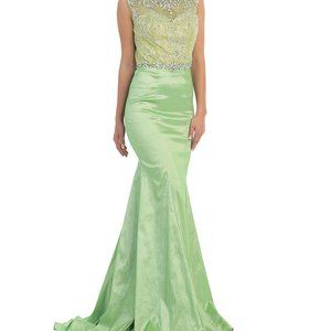 MAY QUEEN prom/formal dress embellished